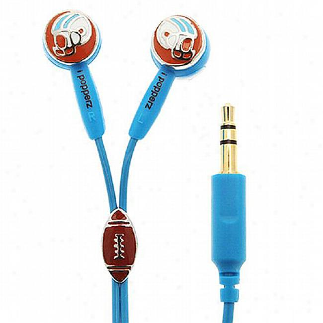 Ipopperz Football Earbud Headphones