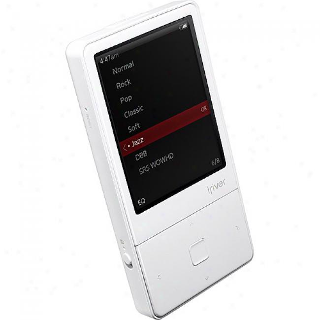 Iriver 8gb Mp3 Video Player, White