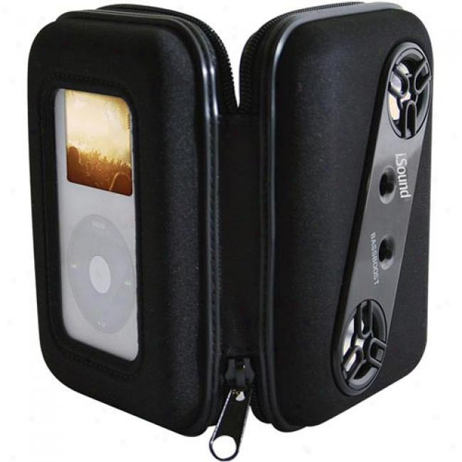 I.sound Audio Vault For Ipod,-Black