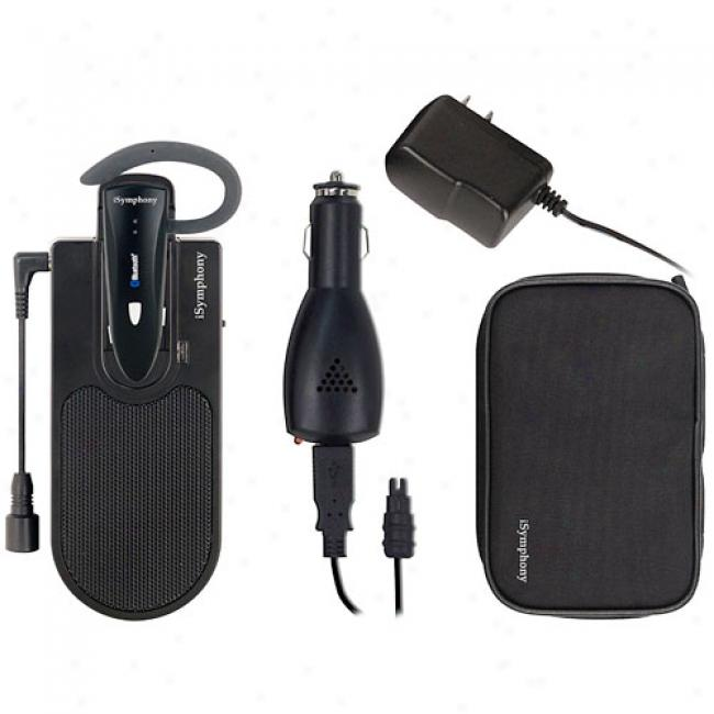 Isymphony Speakerphone With Bluetooth Headset