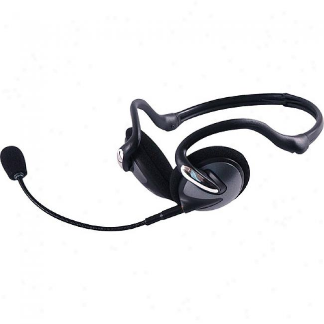 Jasco 3-in-1 Portable Headset With Detachable Mic