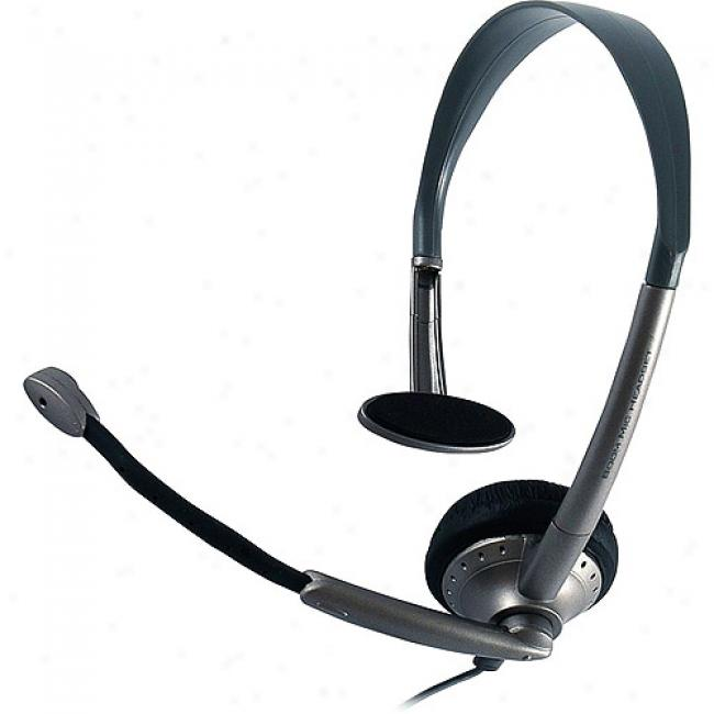 Jasco Hands-free Headset With Volume Control, 2.5mm Plug