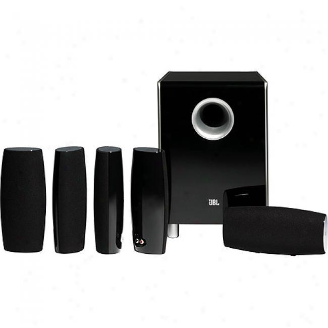 Jbl 5.1-channel Cinema Sound Speaker System