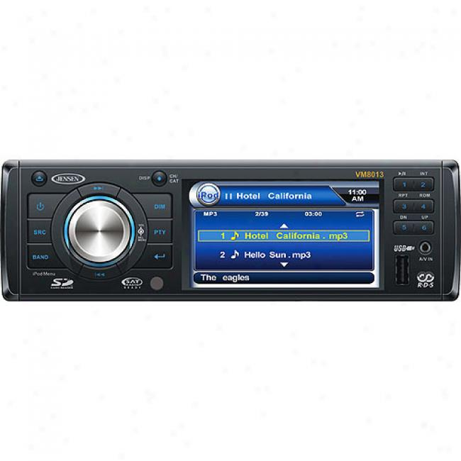Jensen 1.5-din In-dash Dvd Receiver W/ 3.5