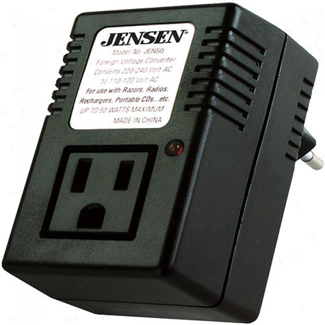 Jensen 50-watt International Converter