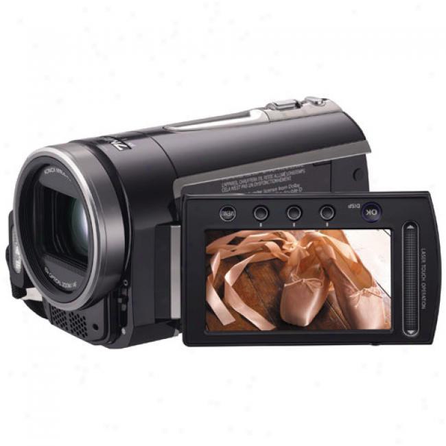Jvc Everio Gz-mg730 Black Hdd Camcorder W/ 30 Gb Hard Drive