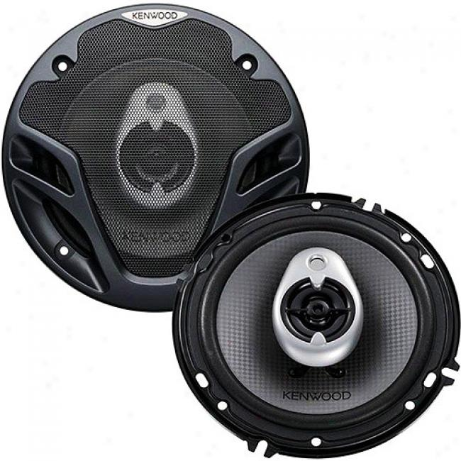Kenwood 6.5'' 3-way Car Speakerx, Kfc-1682ie
