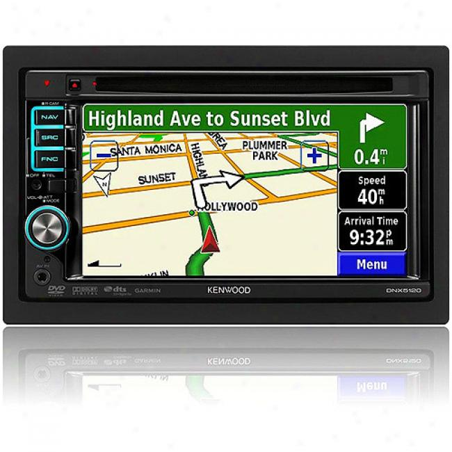 Kenwood All-in-one Navigation/dvd Receiver W/ Touchscreen, Dnx5120
