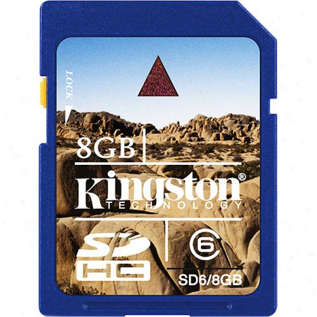 Kkngston 8gb Sdhc Class6  Memory Card