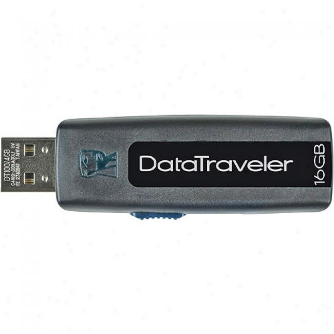 Kingston Datatraveler 100 Flash Drive - 16gb