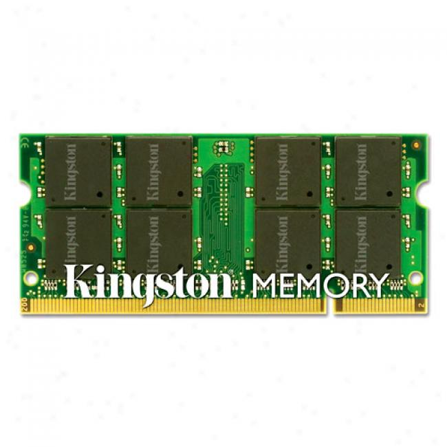Kingston Valueram 1gb Ddr2 Pc2-5300 667mhz Sodimm Notebook Memory Module