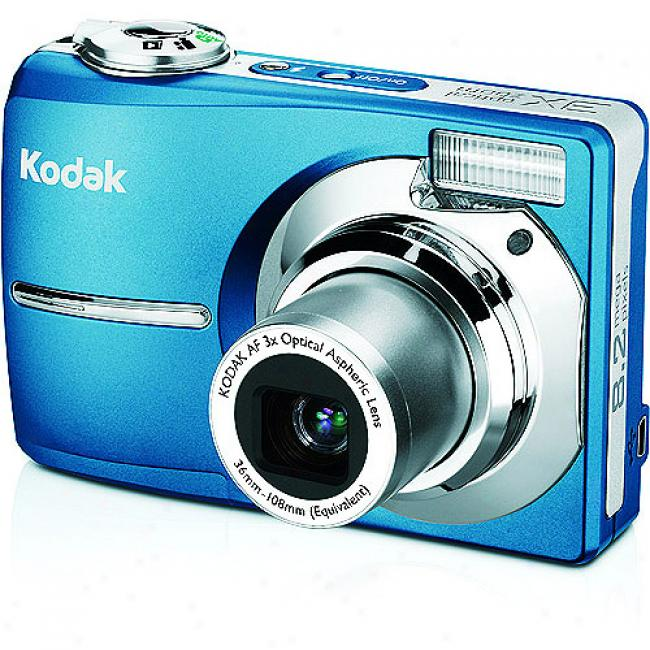 Kodak Easyshare C813 Teal ~ 8.2 Mp Digital Camera W/ 3x Optical Zoom & Image Stabilization
