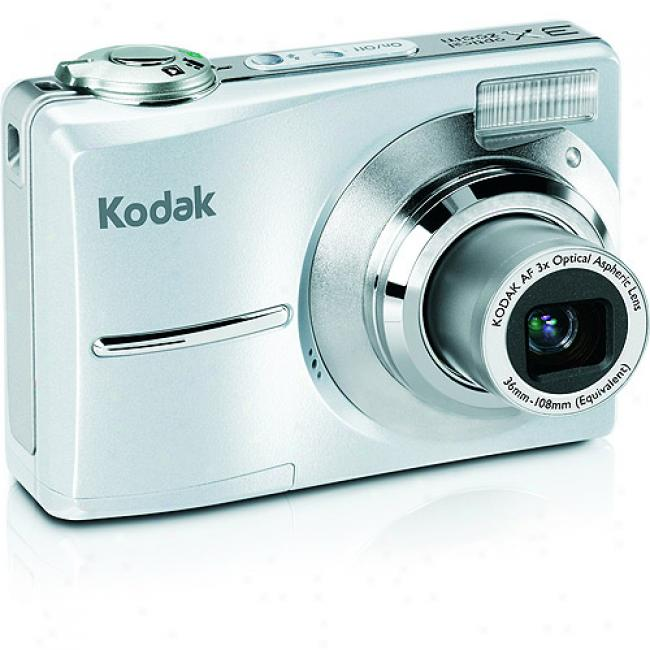 Kodak Easyshare C913 Silver ~ 9.2mp Digital Camera W/ 3x Optical Zoom & Image Stabilization