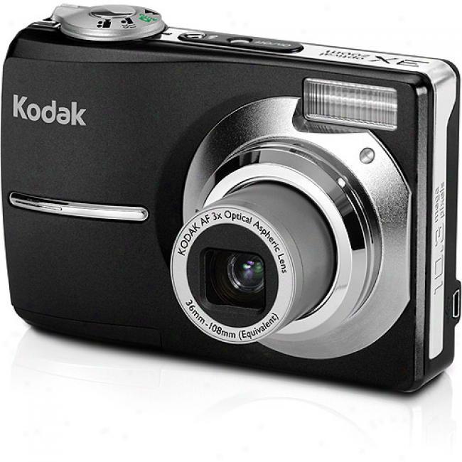 Kodak Easyshare Cd1013 Black ~ 10.3mp Digital Camera W/ 3x Optical Zoom
