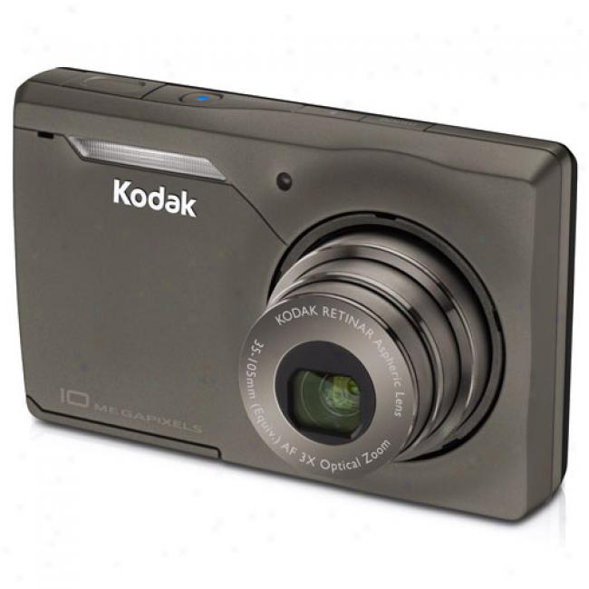 Kodak Easyshare M1033 Grey Bronze ~ 10mp Digital Camera With Digital Image Stabilization, 3x Optical Zoom