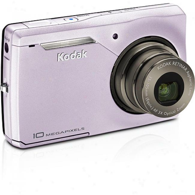 Kodak Easyshare M1023 Pink ~ 10mp Digital Camera With Digital Image Stabilization, 3x Optical Zoom