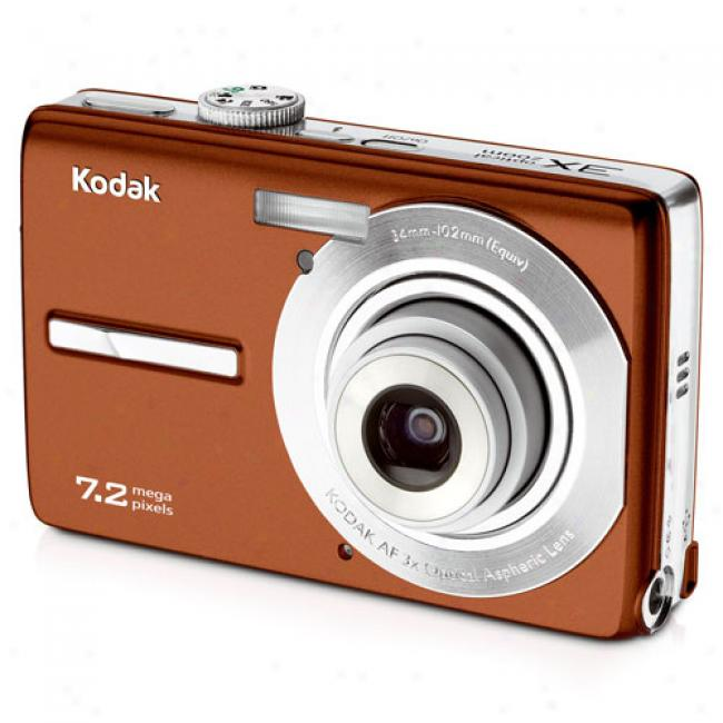 Kodak Easyshare M763 Copper ~ 7.2mp Digital Camera With Digital Image Stabilization, 3x Optical Zoom