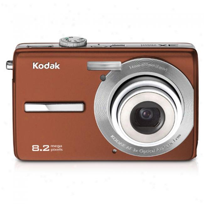 Kodak Easyshare M863 Copper 8.2 Mp Digital Camera W/3x Optical Zoom