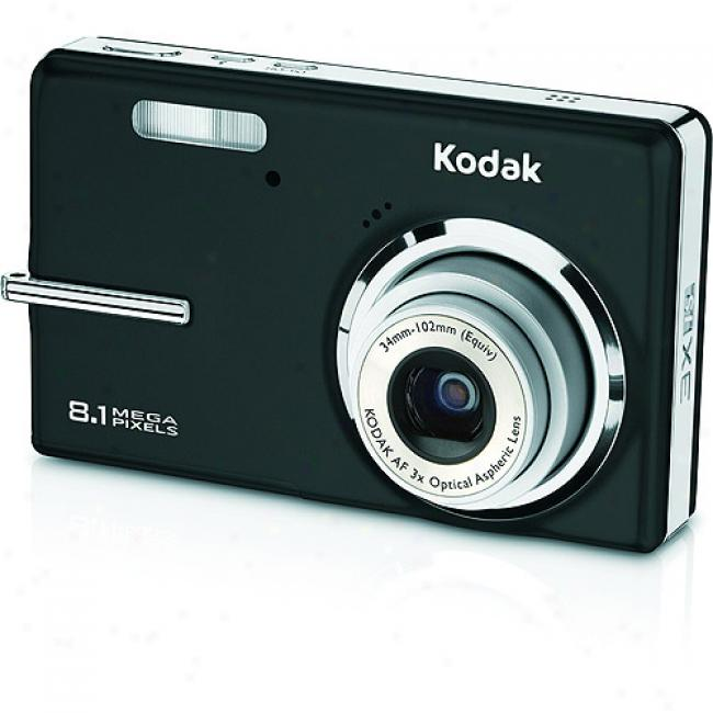 Kodak Easyshare M893 Black8.2 Mp Digital Camera W/ 3x Optical Zoom & Face Discovery