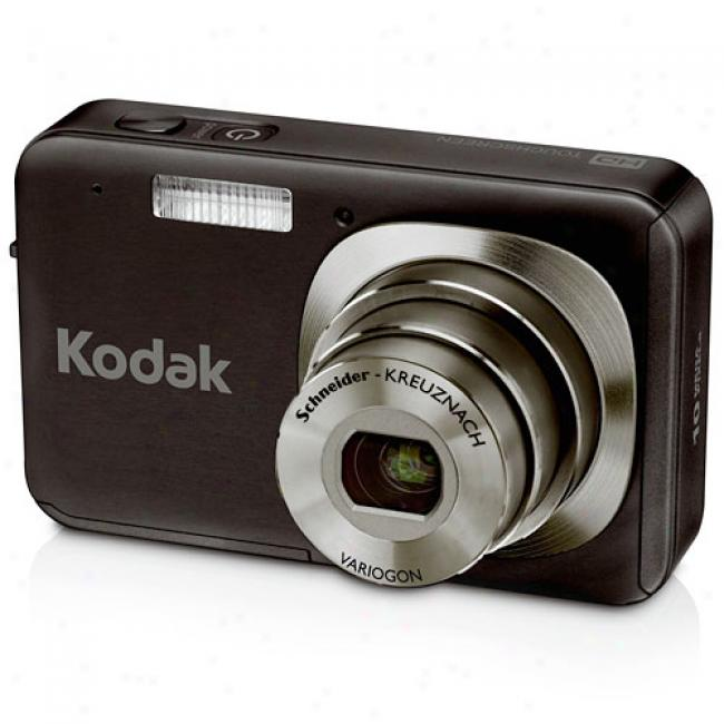 Kodak Easyshare V1073 Black ~ 10.0 Mp Digital Camera, 3