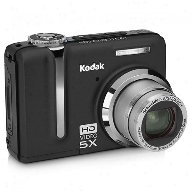 Kodak Easyshare Z1285-is Black ~ 12 Mp Digital Camera W/ 5x Optical Zoom, High-definition Still & Video