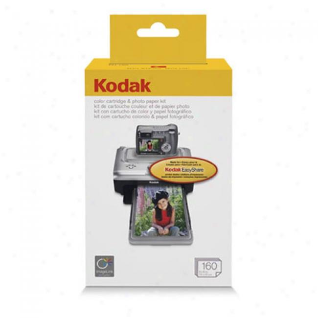 Kodak Ph-160 Easyshare Printer Dock 160 Photo Paper Refill Kit