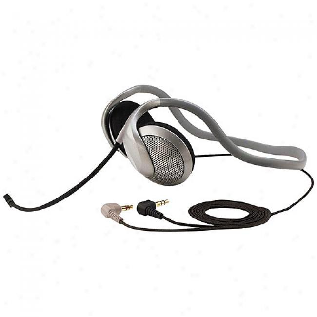 Koss Behind-the-head Stereo Pc Headset Wtih Noise Canceling Microphone