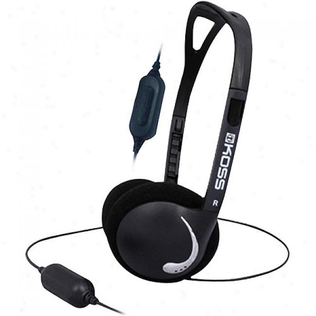 Koss Contemporary Headphones With In-line Volume Control