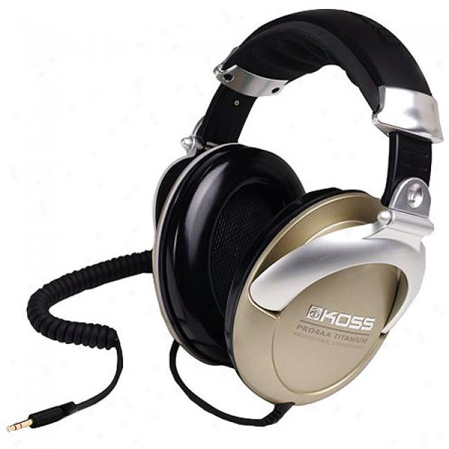 Koss Professional Closed-ear Studio Headphones Wtih Coiled Cord