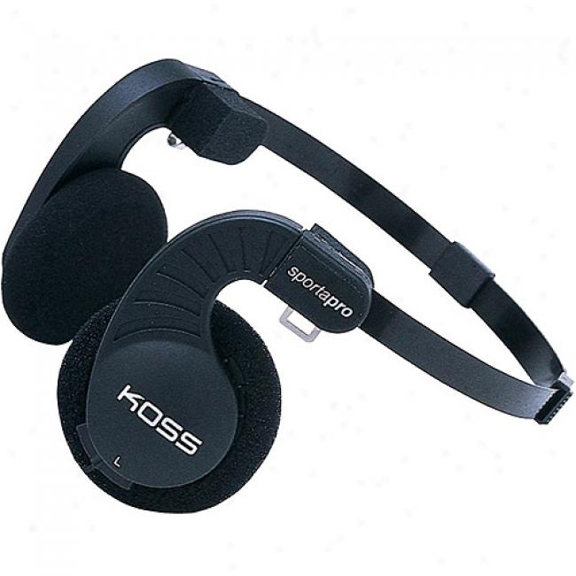 Koss Stereophones With Flexible Headband Sketch
