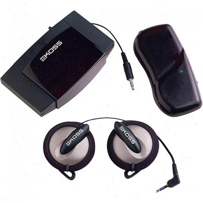 Koss Witeless Infrared Sportclip Stereophone System