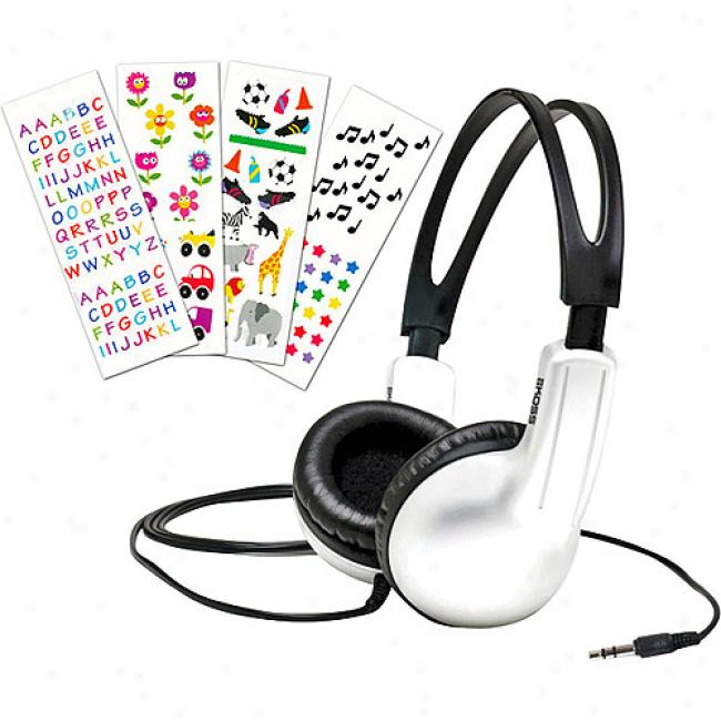 Koss Youth-portable Stereophone With Closed Ear Cushion