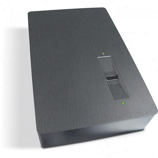 Lacie 160gb Safe Changeable Usb External Hard Drive With Biometric Scanner & Hardware Encryption