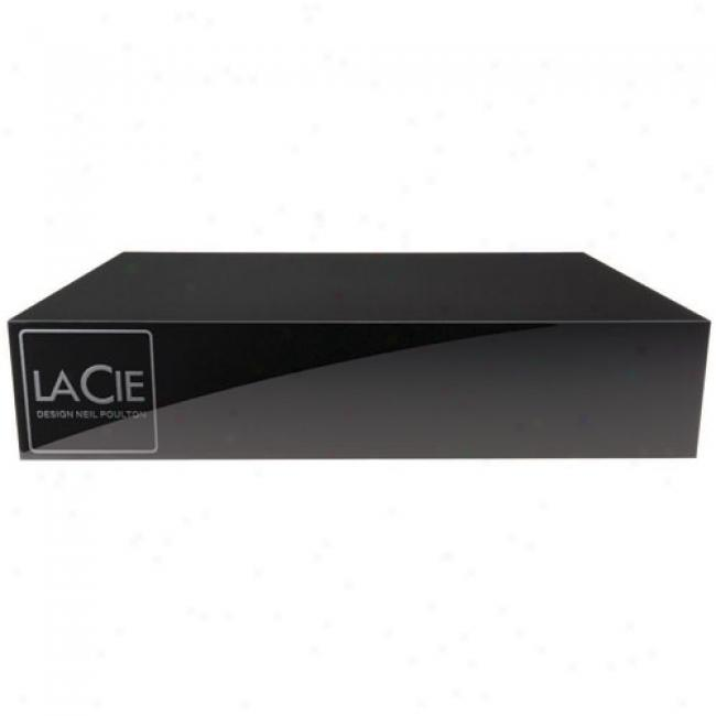 Lacie 1tb Hard Drive, Design By Neil Poulton, Usb Only