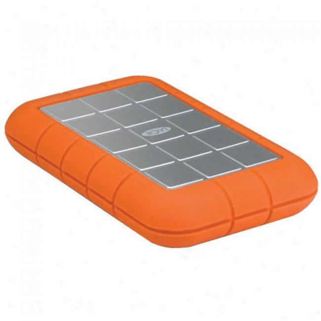 Lacie 250gb Rugged Hard Disk, Treble Interfacd