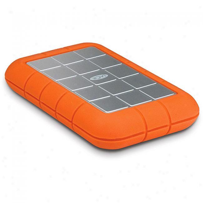 Lacie 250gb Rugged Portable 2.5