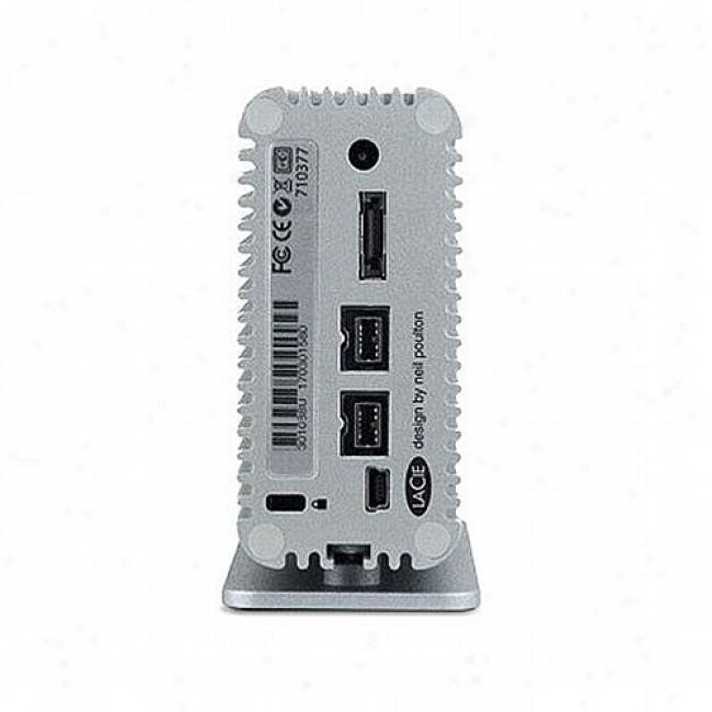 Lacie 500gb Little iBg Disk Quadra Portable Hard Drive
