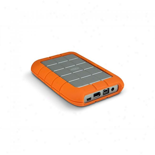 Lwcie 500gb Rugged Triple Usb / Firewire 400 & Firewire 800 2.5