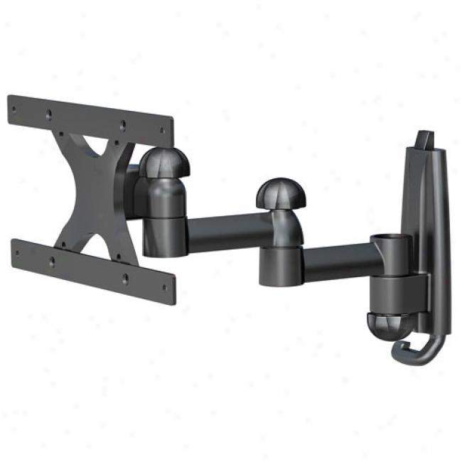 Level Mount Dual-arm, Full-motion Plus For Lcd Tvs Up To 30