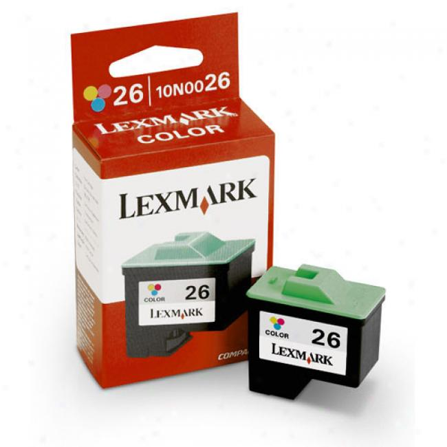 Lexmark 26-color Ink Cartridge (twin Pack)