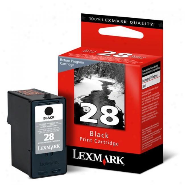 Lexmark 28 Black Mark Cartridge (18c1428)