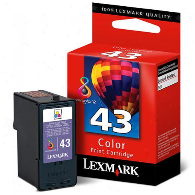 Lexmark 43xl Color Print Cartridge