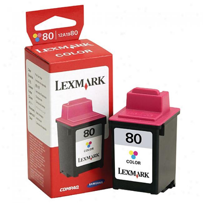 Lexmark 80 Color Ink Jet Cartridge