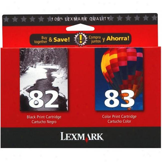 Lexmark 82/83 Black & Color Print Cartridges