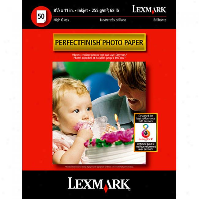 Lexmark Perfectfinish 8.5