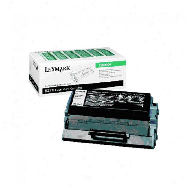 Lexmark Return Program Print Cartridge, Black