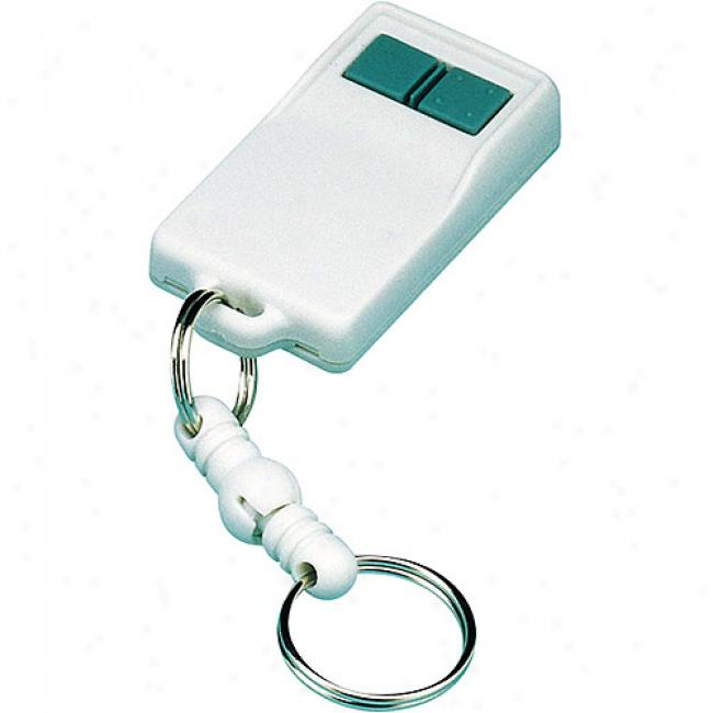 Linear 2-button, 3-channel Key Ring Transmitter