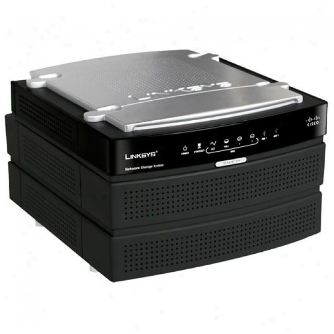 Linksys Nas200 Two-bay Nas Sata Hard Drive Enclosure