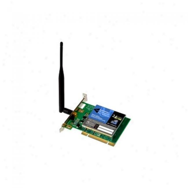 Linksys Wireless-g Pci Adapter