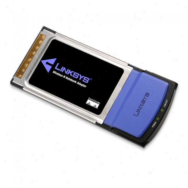 Linksys Wpc300n Wireless-n Pc-card Notebook Adapter